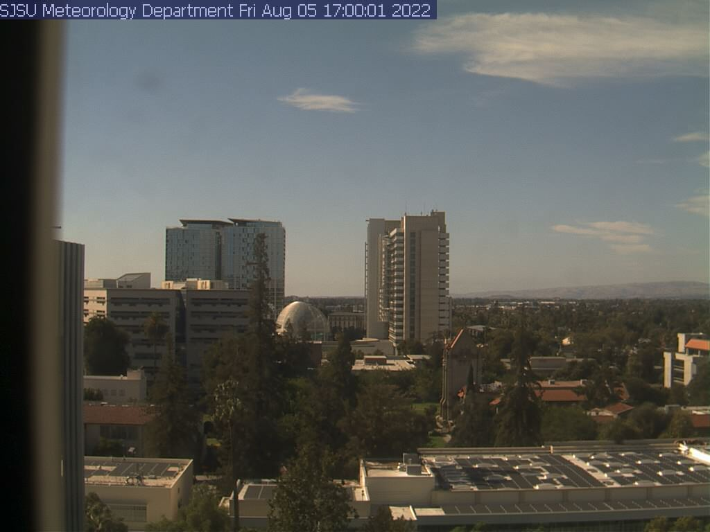 Webcam San Jose - California Live webcamera