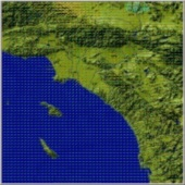 Southern California Static Modeled Wind Vectors