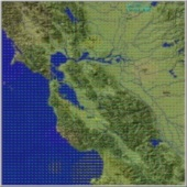 SF Bay Static Modeled Wind Vectors